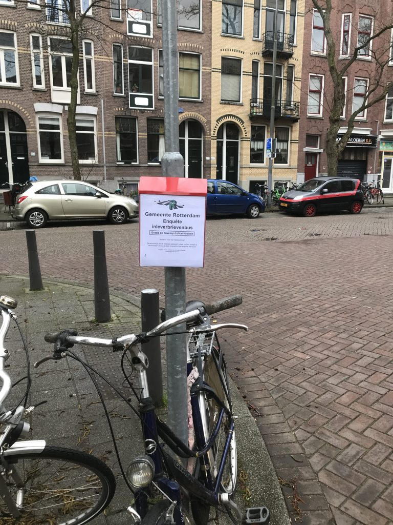 Buurtparticipatie Enquete Rotterdam
